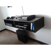 Mueble Flotante Para Tv Led Xboxone Bluray Ps4 Ref. Mtv120