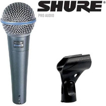 Shure Beta58a Microfono Profesional Original ( Sin Caja )