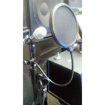 Filtro Anti Pop Para Microfonos - Grabacion