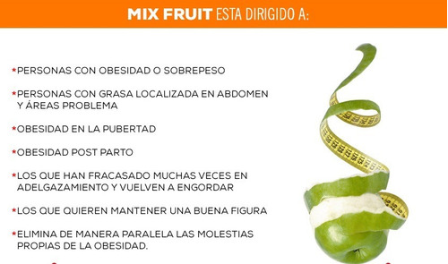 Mix Fruit Slimming Potente Adelgazante, Quema Grasa Original