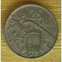 Moneda España De 25 Pesetas De 1957 Star 59