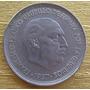 Moneda España De 50 Pesetas De 1957 M 58