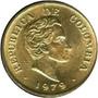 2 Moneda Sde 25 Centavos 1979 Colombia Bronce Oferta