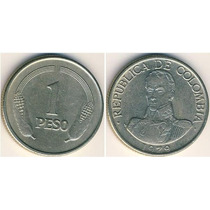 Monedas Colombianas De 1 Peso