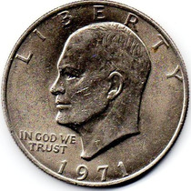 Moneda 1 Dolar 1971 Plata Estados Unidos Oferta