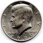 Moneda Half Dollar Kenedy 1980 Usa Estados Unidos