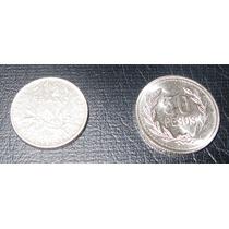 Moneda Antigua 1/2 Franco 1970 Francia - Europa Oferta