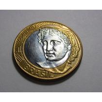 Moneda 1 Real Brasil 2008