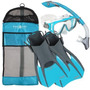 Morral Aqua Lung Deporte Diva 1 Lx / Dry Island Snorkel
