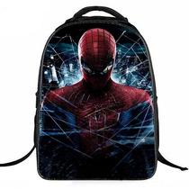 Maletín Morral Bolso Spiderman Escolar Niños 42 Cm Navidad