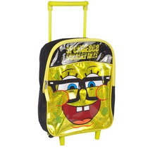 Morral Bob Esponja \cheeky\ Mini Revista Rolling Backpack Y