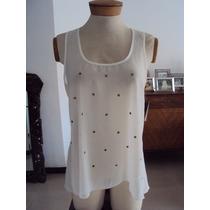 Blusa Blanca Elegante Para Dama ,