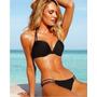 Hermoso Vestido De Baño Bikini Negro