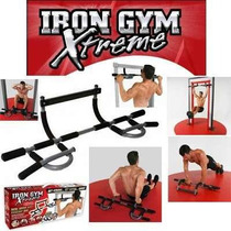 Iron Door Gym Xtreme Barra Gimnasio Para Puerta + Obsequio