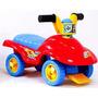 Carrito Triciclo Montable 48 Cm De Largo Buggy Rojo Niño
