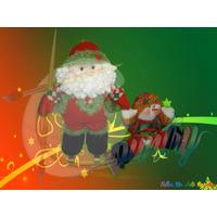 Noel Y Nieve Patinador Muñequeria Country Navideña