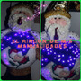 Lamparas Navideñas En Patchwork Luces Led 80 Cm.$150000