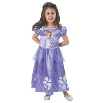 Sofia Princess Costume - Toddler Kids Girls Disney Fantasía