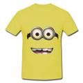Camiseta Disfraz Minions, Estampados Mini Ons Y Màs