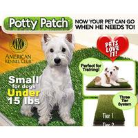 Baño, Orinal - Tapete Para Perros Potty Patch - Original Tv