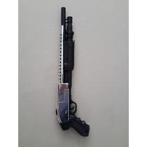 Super Escopeta Niquelada Remington + Changon + Balines!!