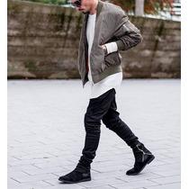 Pantalon Sudadera En Dril Marca Eme Original