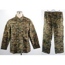 Camuflado Completo Acu Camo. Pantalon Y Guerrera