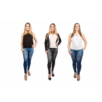 Slim Lift Caresse Jeans Levanta Cola Aplana Abdomen Leggins