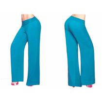 Pantalones De Moda De Mujer Bota Ancha