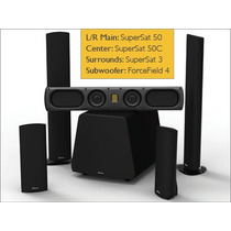 Parlantes Home Theater 5.1 Goldenear Supercinema 50