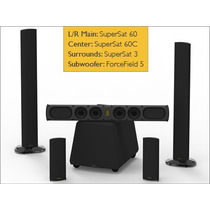 Parlantes Home Theater 5.1 Goldenear Supercinema 60