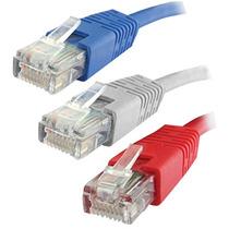 Patch Cord Cat6 3mt Categoria 6 25 Cables Rj45 Qpcom Qp603
