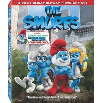 Película Blu-ray + Dvd Original The Smurfs ( Los Pitufos )