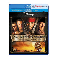 Piratas Del Caribe: Maldición De La Perla Negra (bluray + Dv