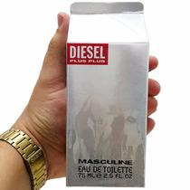Perfume Diesel Plus Plus - Zero Plus - Hombre Mujer Original