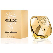 Perfumes Y/o Lociones Lady Million De Paco Rabanne De 80 Ml