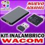 Wacom Kit Inalambrico Para Tablas Digitalizadoras Wacom