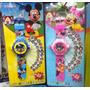Reloj Con Proyector Mickey Y Minnie Sopresa Recordatorio