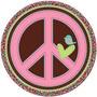 Niña Hippie Platos X8 Para Decoracion Fiesta Importada
