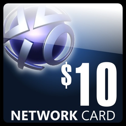 Playstation Network Card $10 Psn Usd Ps3 Psp Psp Go! Ps2