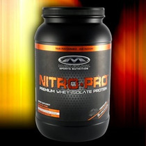 Nitro Pro Advanced X 3lbs Whey Protein Formula