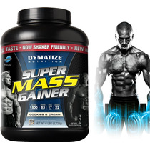 Proteina Super Mass Gainer 6 Lbs Dymatize Puro Musculo Bcaa
