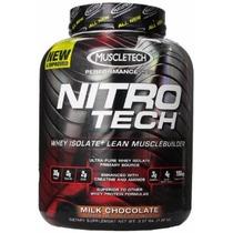 Nitrotech 4lb De Muscletech Proteina 0 Trans Fat, Creatina