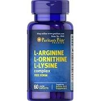 Arginina Ornitina Lisina - Mejora El Rendimiento Fisico