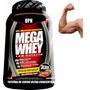 Proteina Mega Whey Upn Baja Calorias 3lb Musculo Sin Grasa