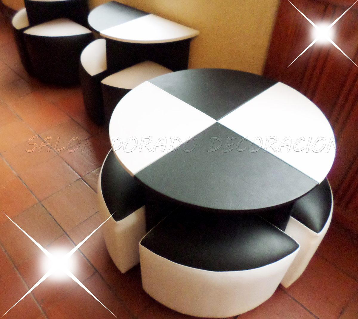 Puff rigidos cubos alta costura bien elaborados bs 39 for Modelos de muebles para bar