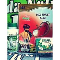 Comb Mix Fruit +colon Cleanse+limpia Pluss Purgante Natural