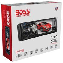 Audio Radio Carro Boss Dvd Mp4 Camara Mp3 Sd Usb Fm Wma Cd