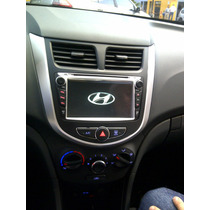 Hyundai I25 Radio Original Dvd Gps Multimedia + Camara Rev.