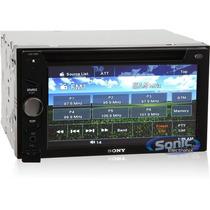Radio Sony Xav-64bt Dvd Doble Din Bluetooth Mp3 Usb